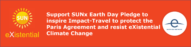SUNx Earth Day Pledge