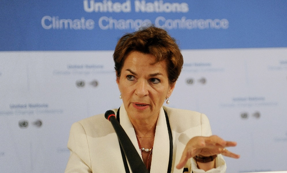 Christiana Figueres – What Are The Financial Implications Of COP21?