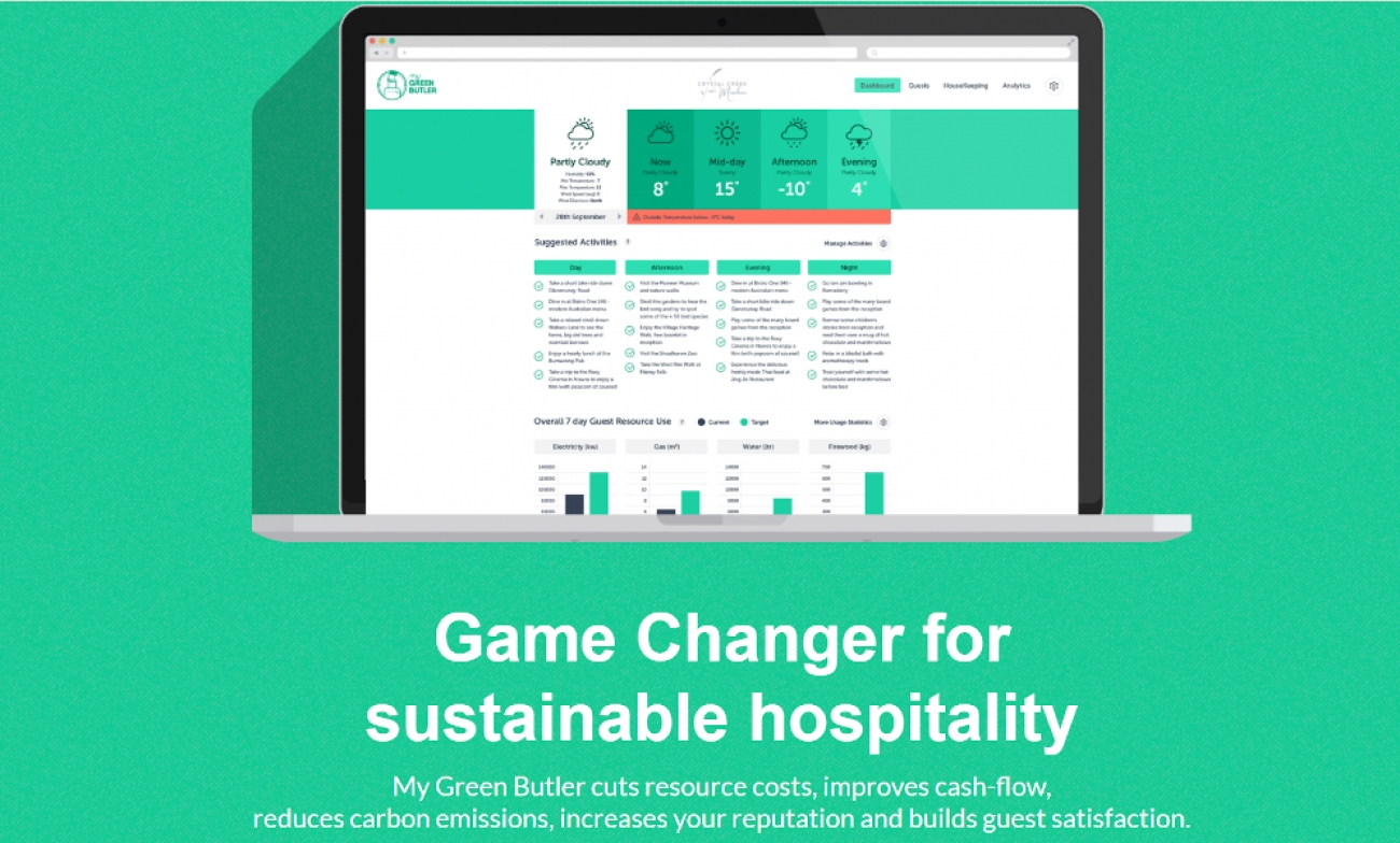 The World's First Scientifically Tested Sustainable Hospitality Management System