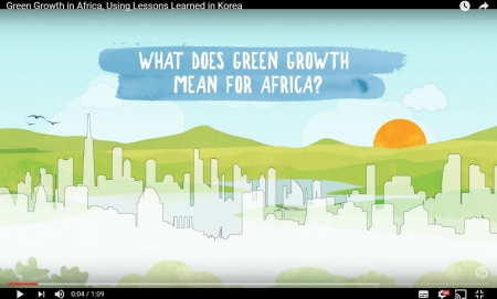 Green Growth in Africa, Using Lessons Learned in Korea