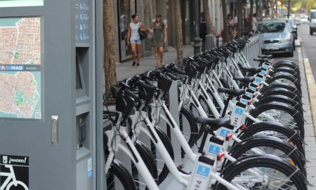 BiciMAD. The Public Bike Rental Service in Madrid