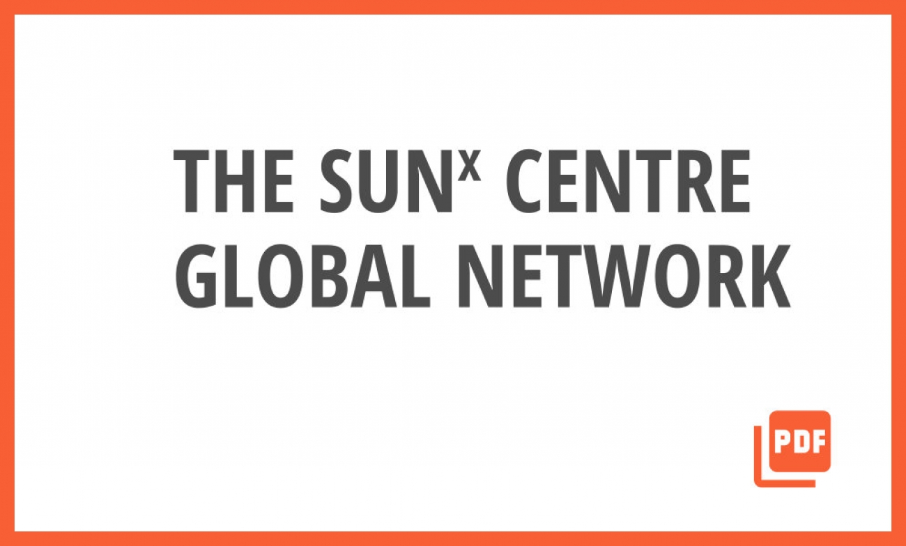 The SUNx Centre Global Network