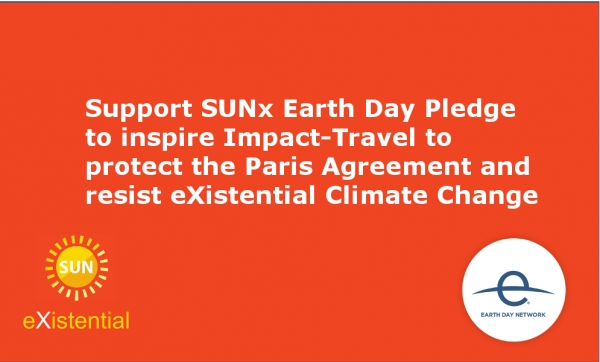 Support our Earth Day Pledge for Impact-Travel to Protect the Paris Climate Agreement