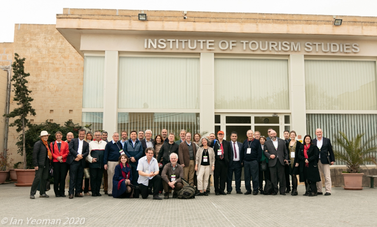 Climate Friendly Travel Think Tank Participants at The Institute of Tourism Studies, Gozo Malta