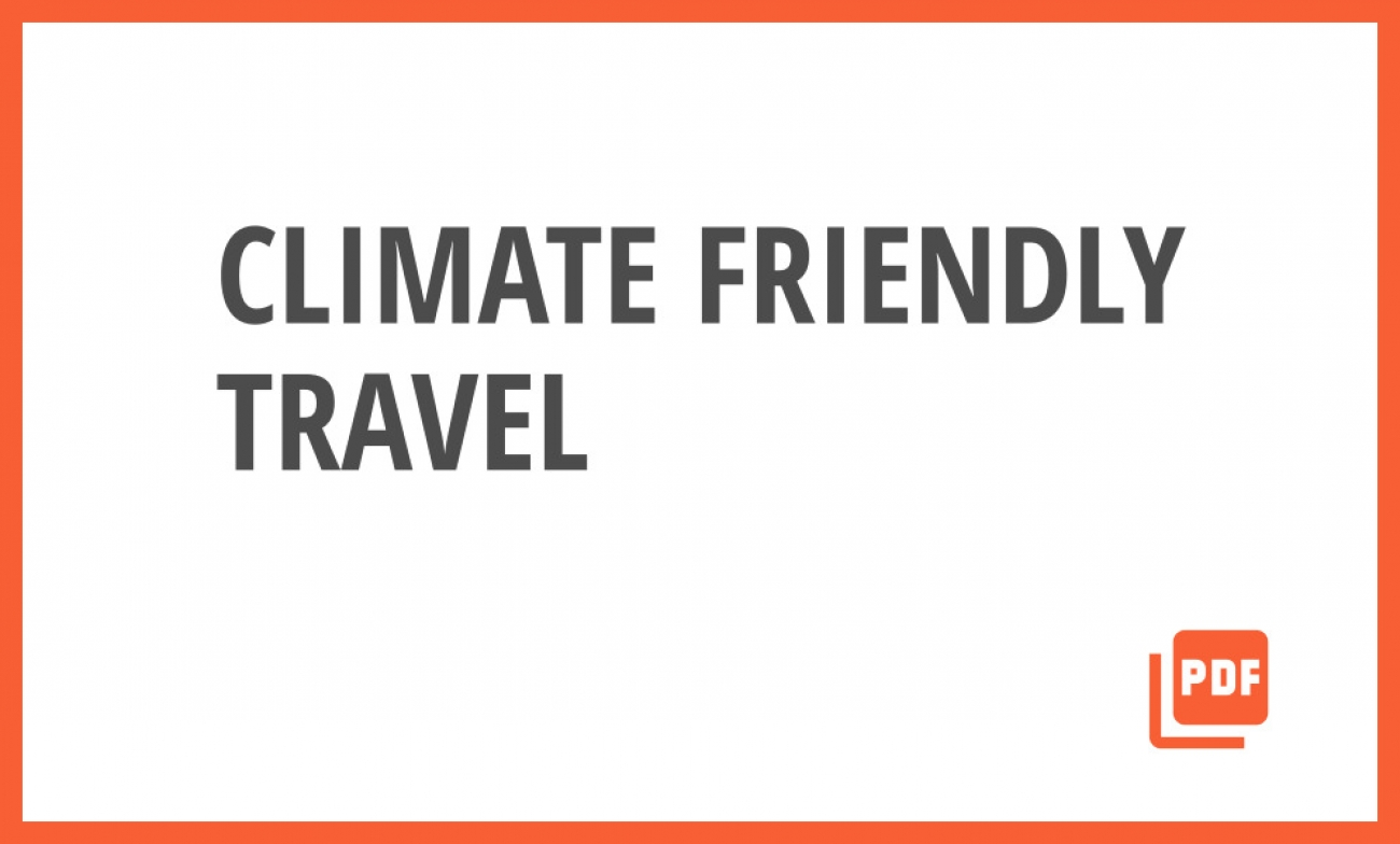 Impact-Travel for Climate Resilience