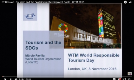 Tourism & the Sustainable Development Goals