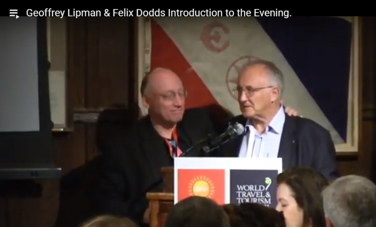 Geoffrey Lipman & Felix Dodds Introduction to the Evening